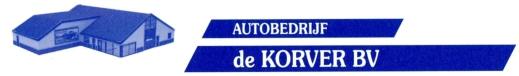 Autobedrijf De Korver Logo